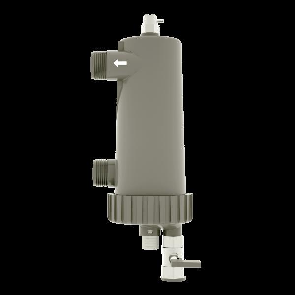 T-MAG XL, il nuovo filtro magnetico a pulizia semi-automatica per impianti fino a 400 Lt di acqua